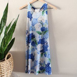 Anthropologie CECE Hydrangea Dress